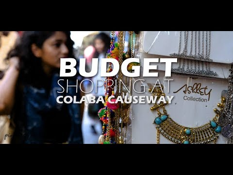 Budget Shopping : Festive Look under INR 1500/- from Colaba Causway