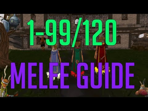 Runescape 3 - 1-99/120 Melee Guide 2018