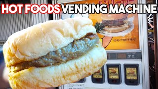 Trying Hot Food from a Vending Machine in Japan