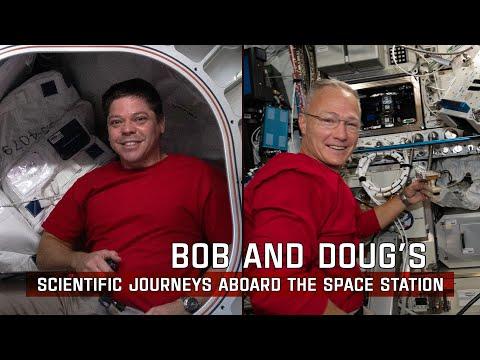 NASA Astronauts Robert Behnken and Douglas Hurley undock from the International Space Station at 7:34 p.m. EDT tonight, bringing...