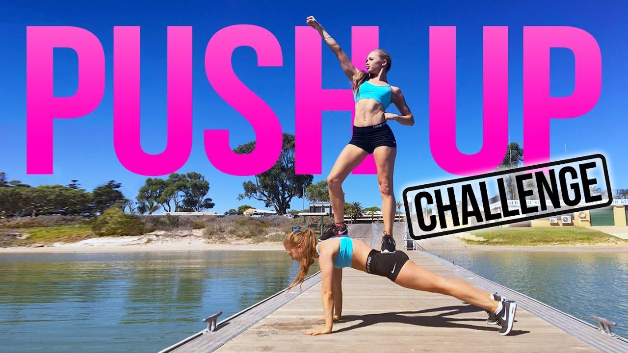 Twin VS Twin: Push Up Challenge! | The Rybka Twins - YouTube