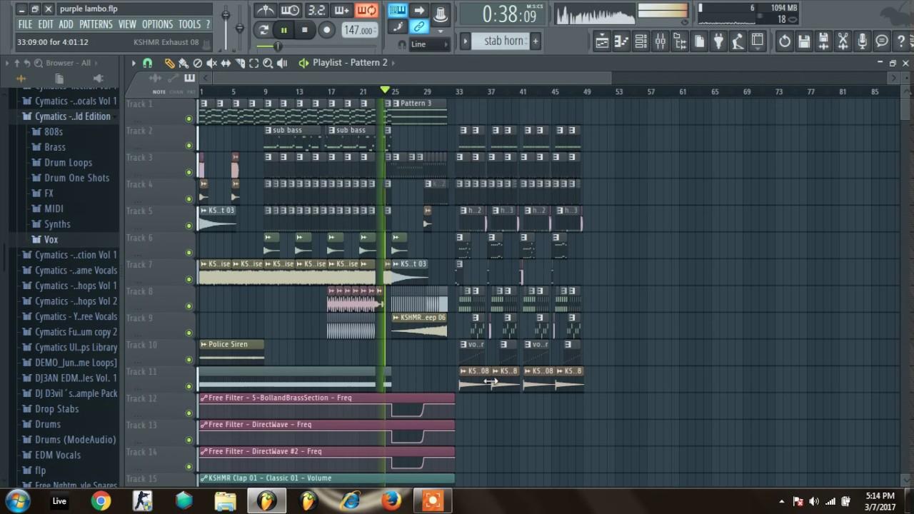 Skrillex Rick Ross Purple Lamborghini Fl Studio 12 Remake Flp