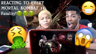 Mortal Kombat 11 Fatalities Reaction