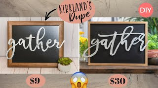 Gather Galvanized Pop-Out Framed DIY | Farmhouse Style | Look For Less Challenge | Ashleigh Lauren
