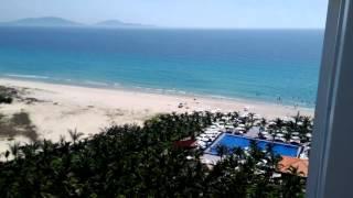 dessole resorts в Нячанге. Все включено. Супер шикарный отель!!! Вид из окна.