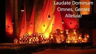 Laudate Dominum (Taizé Chant)