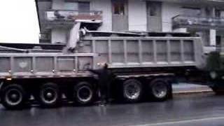 Big Tridem Dump Truck