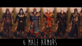 Skyrim Mods | 6 Male Armours