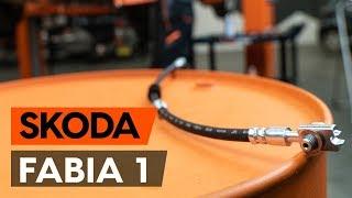 Hogyan cseréljünk Fékcsövek SKODA FABIA Combi (6Y5) - online ingyenes videó