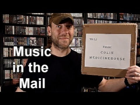 Music in the Mail   Thanks Colin!