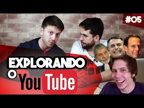 EXPLORANDO O YOUTUBE #5 - BOLSONARO, LULA, DÓRIA E EL RUBIO TOMANDO GROSELHA