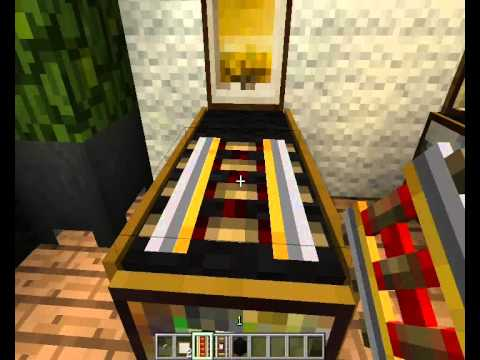 Minecraft Decoracin  Sala de juegos tipo 2  YouTube