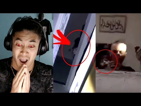 reacting-to-real-ghost-'bhoot'-caught-on-camera-//-part-2