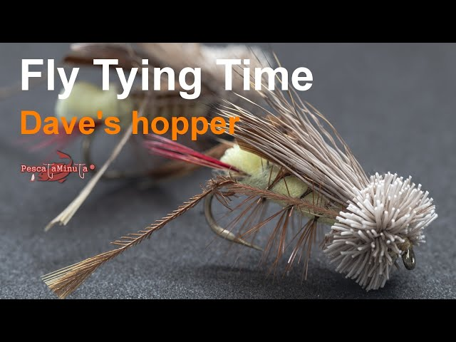 Fly Tying Time - Dave's hopper
