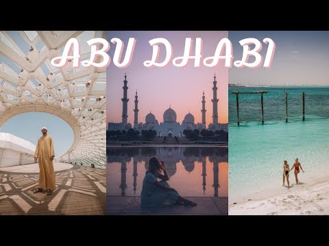 Exploring ABU DHABI for a week // travel vlog