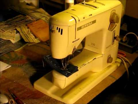 Bernina Record 730 Sewing Machine - YouTube