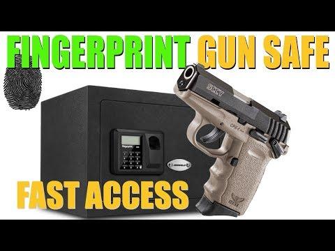 FINGERPRINT GUN SAFE (Ardwolf) | Affordable Home Safe | NO KEYS!