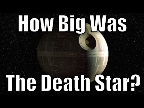 How Big was the Death Star? (Canon)