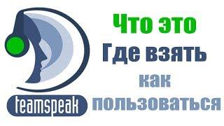 Як користуватися ТИМСПИК (ТЗ)Teamspeek 3