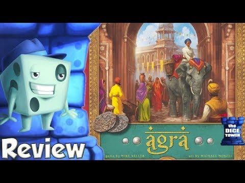 Agra Review - with Tom Vasel