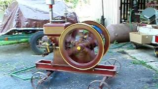Hercules 5HP Hit and Miss Engine