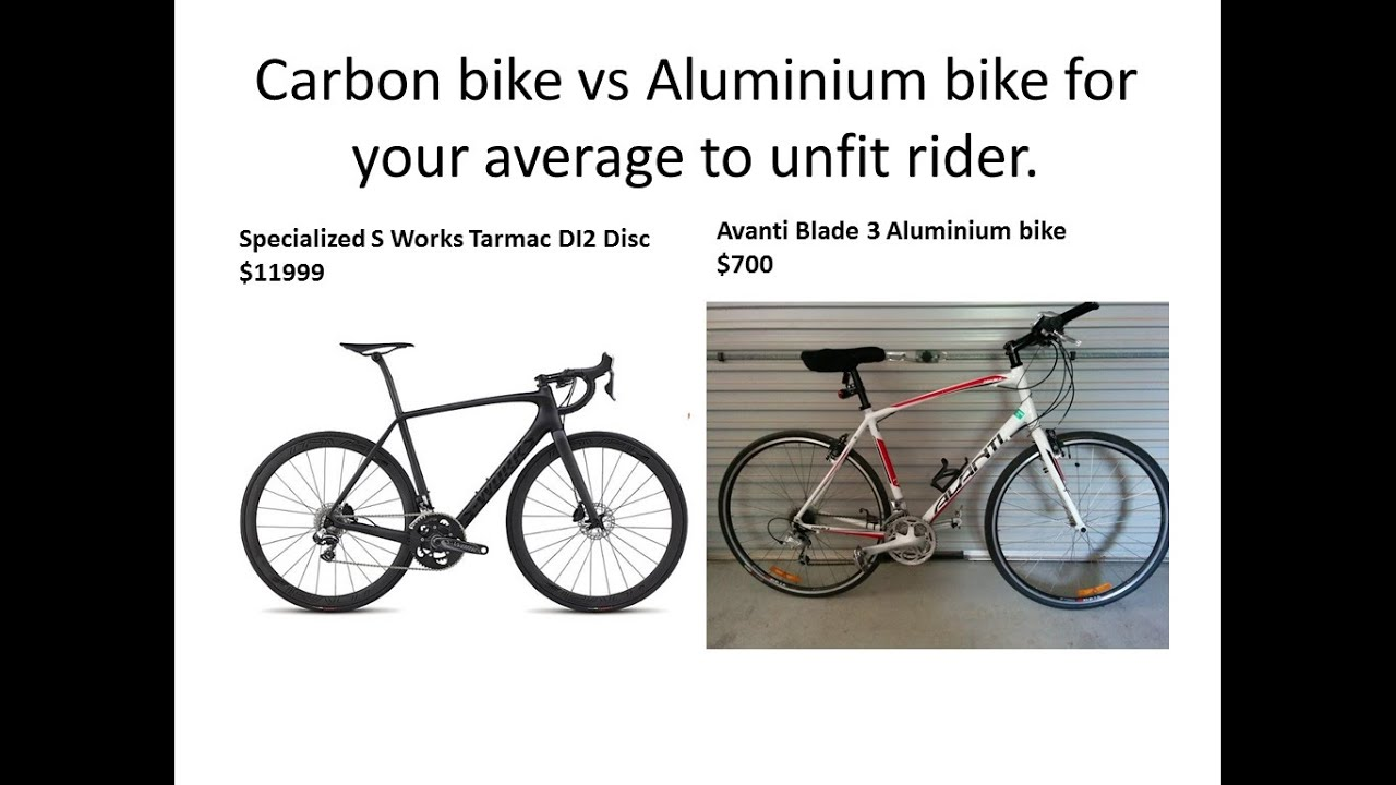 Carbon Vs Aluminium Bike For Your Average To Unfit Rider