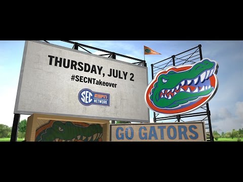 #Gators Take Over the SEC Network! #SECNTakeover