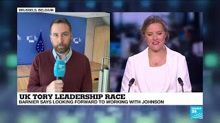 UK Tory leadership race: EU leaders respond to Johnson's nomination