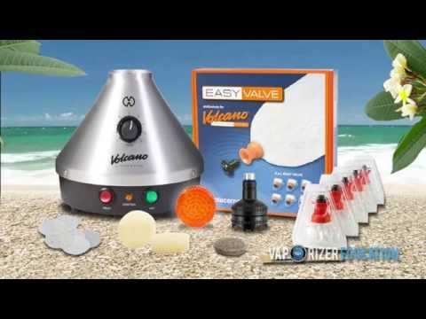 Volcano Classic Vaporizer: How To Use - Review/Demo Tutorial With Vapor MC