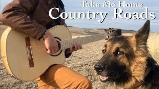 Country Roads (John Denver) - Classical Fingerstyle Guitar by Thomas Zwijsen
