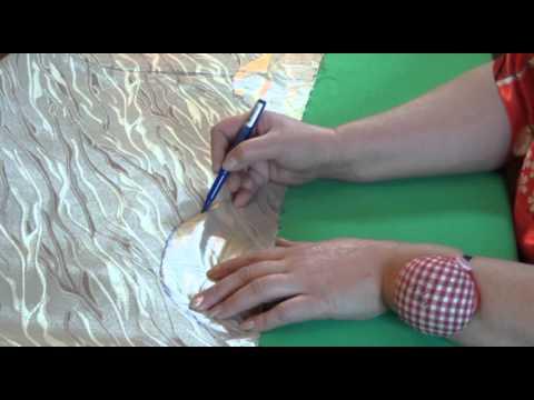Римская штора, своими руками из подручных материалов.