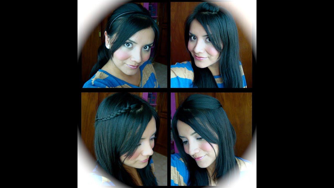 Peinados para la escuela faciles y bonitos youtube - Peinados faciles y bonitos ...