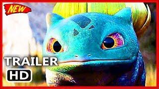 POKÉMON DETECTIVE PIKACHU Bulbasaur + Lickitung Trailer 2019 || Action Movie || Cartoon For Children