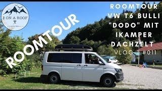 Roomtour VW T6 Bulli
