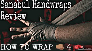 How to wrap your hands - Sanabul Handwraps Review