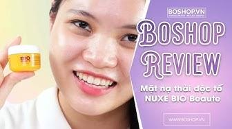 [Boshop Review] Mặt nạ thải độc tố NUXE BIO Beaute