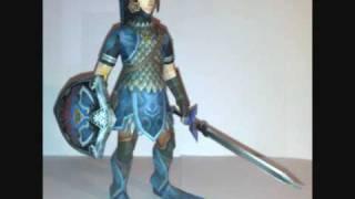 Zelda Zora Armor Link Papercraft