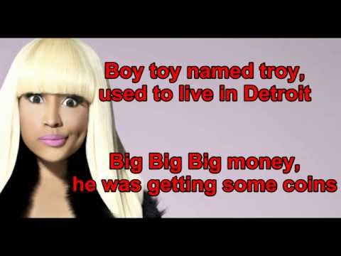 Nicki minaj - Anaconda  Lyrics + clean version