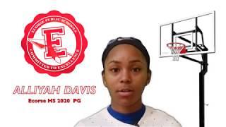 Alliyah Davis Basketball Workout 09082018