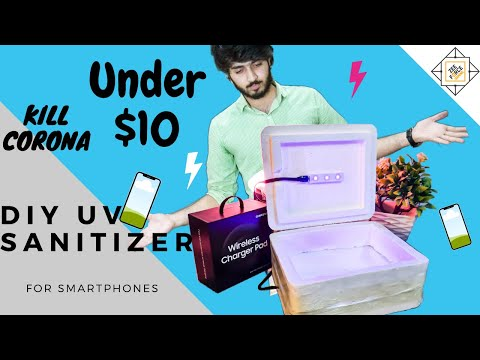 how-to-make-cheap-uv-sanitizer-box-for-cell-phones
