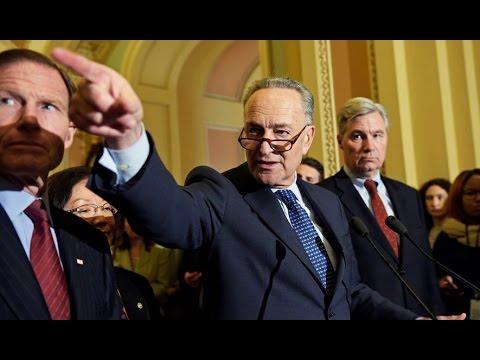 Schumer: Democrats WILL Filibuster Neil Gorsuch