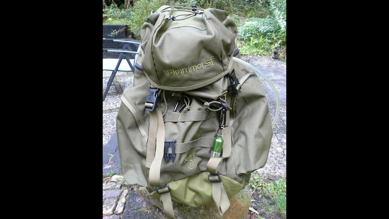 Karrimor SF Sabre 35 rucksack review