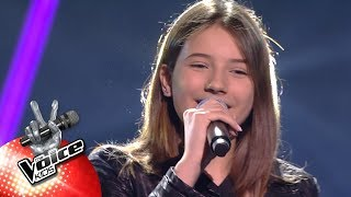 Evi - 'Yours'   Blind Auditions   The Voice Kids   VTM
