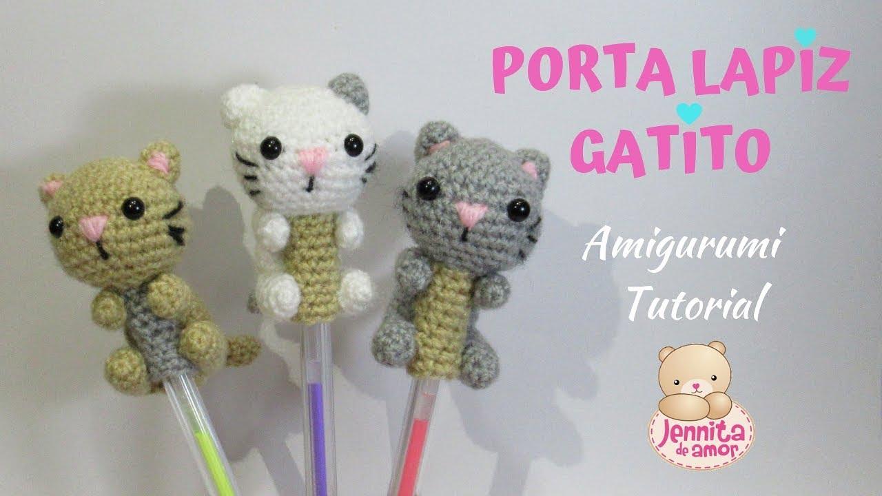 Patrón de gato amigurumi (amineko) en español | Momochi Amigurumi | 720x1280