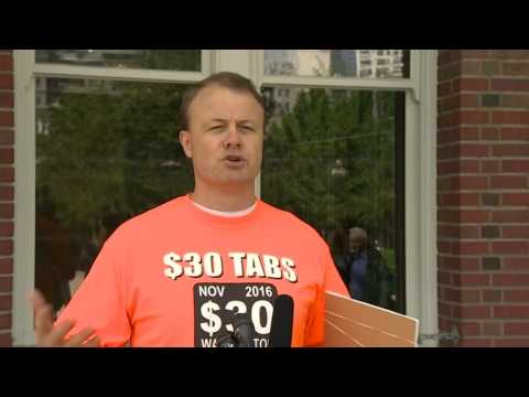 Eyman launches $30 car tab initiative