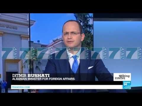 DITMIR BUSHATI PER FRANCE 24 - News, Lajme - Kanali 9