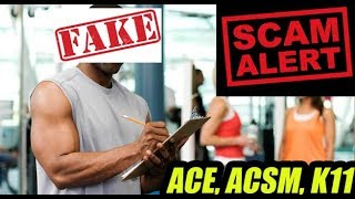 The Fake Trainer Certification Scam in India II How to verify ?
