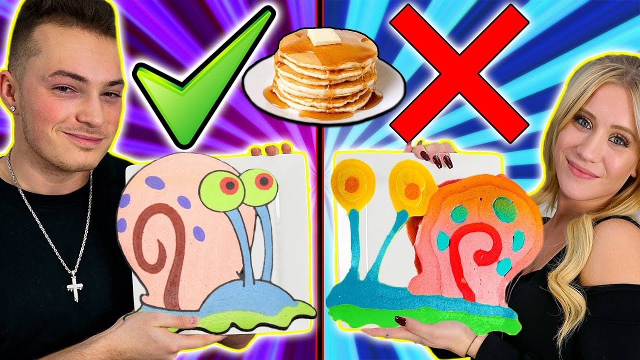 pancake-art-challenge-boyfriend-vs-girlfriend