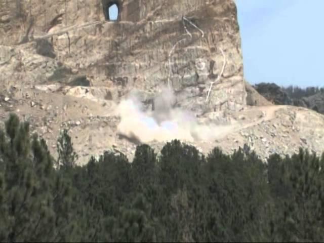 Crazy Horse Memorial Blast August 4, 2014