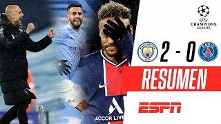 ¡DOBLETE DE MAHREZ Y PRIMERA FINAL DE CHAMPIONS PARA EL CITY! | PSG 0-2 Manchester City | RESUMEN